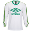 Umbro Logo Crew Neck Long Sleeve T-Shirt - Men's