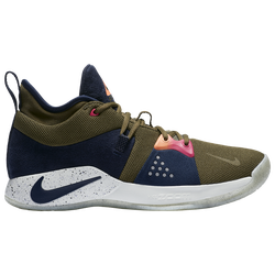 93aad9fffcd1 Paul George Nike PG 2 - Mens - Olive Canvas Obsidian