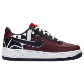 nike air force 1 black gym red white nz