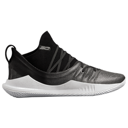 d75bf5d98a3 Stephen Curry Under Armour Curry 5 - Mens - White Black Metallic Silver