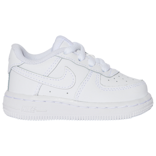 Classic and CleanIf you\\\'re looking for iconic style that\\\'s ideal in every situation from the park, to the playground, to daycare, the Nike Toddler Boys\\\' Air Force 1 Low has your little one covered. This fun shoe will have tiny feet walking, running, and kicking for joy thanks to its clean, classic look. This \\\'80s retro sneaker was the first of its kind to include Air Sole cushioning to optimize support and comfort. Since then, the AF1 has dominated pop culture over the decades and continues to be a must-have for little ones who have people to see and places to explore. Cool Comfort. Stable Strides.The AF1 Low features sporty perforations at the toe and sides for breathability. A cushiony lining and an Air Sole midsole provide a comfortable fit, while the rubber outsole supplies plenty of stability and traction on most surface types. Nike Toddler Boys\\\' Air Force 1 Low features: Traditional lacing system for a secure fit. Perforated toe panels for comfortable ventilation. Air Sole® midsole for cushioning and comfort. Rubber outsole with a signature circular tread pattern for optimal traction and durability.