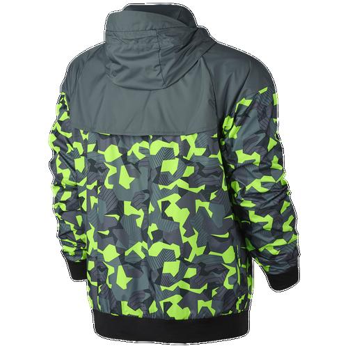 87. Nike - Badlands AOP Windrunner - Mens - Hasta/Black/Ghost