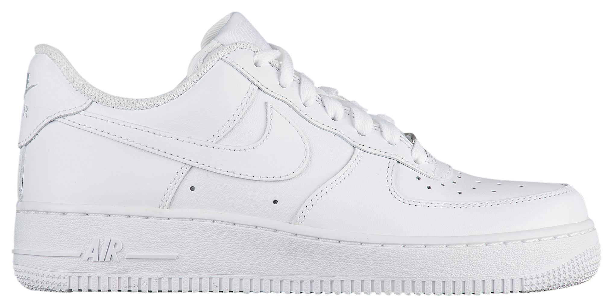 womens nike air force 1 white. Womens Nike Air Force 1 White 8
