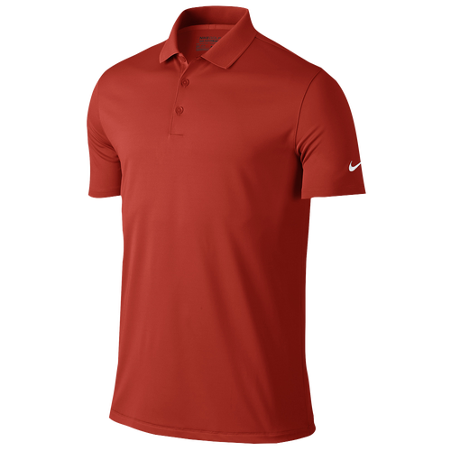 Nike Victory Solid Golf Polo - Mens - Light Crimson/White
