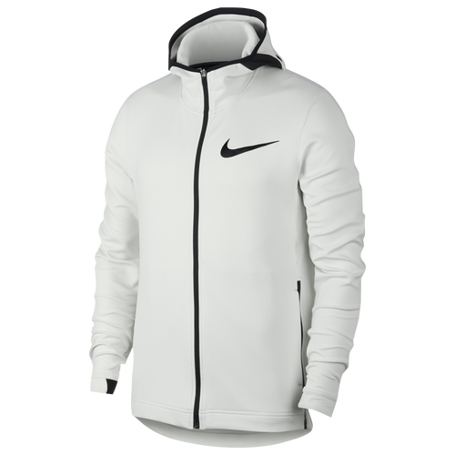 Nike Thermaflex Showtime F/Z Hoodie - Mens - Summit White/Black photo