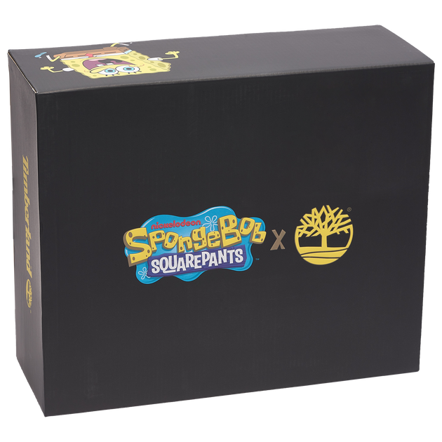 "Timberland SpongeBob 6"" Premium Waterproof Boot - Boys' Toddler"
