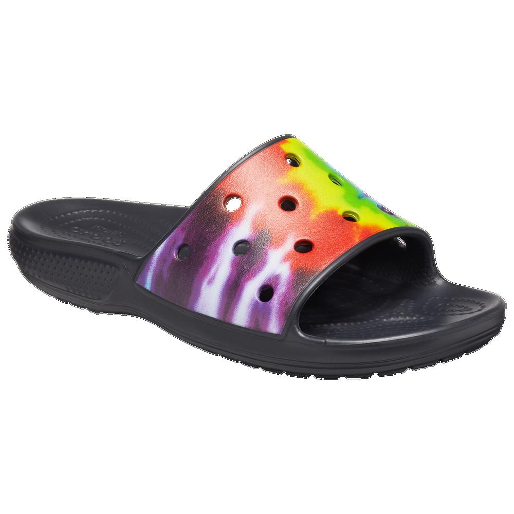 Crocs Tie-Dye Graphic Slide - Mens / Multi/Multi