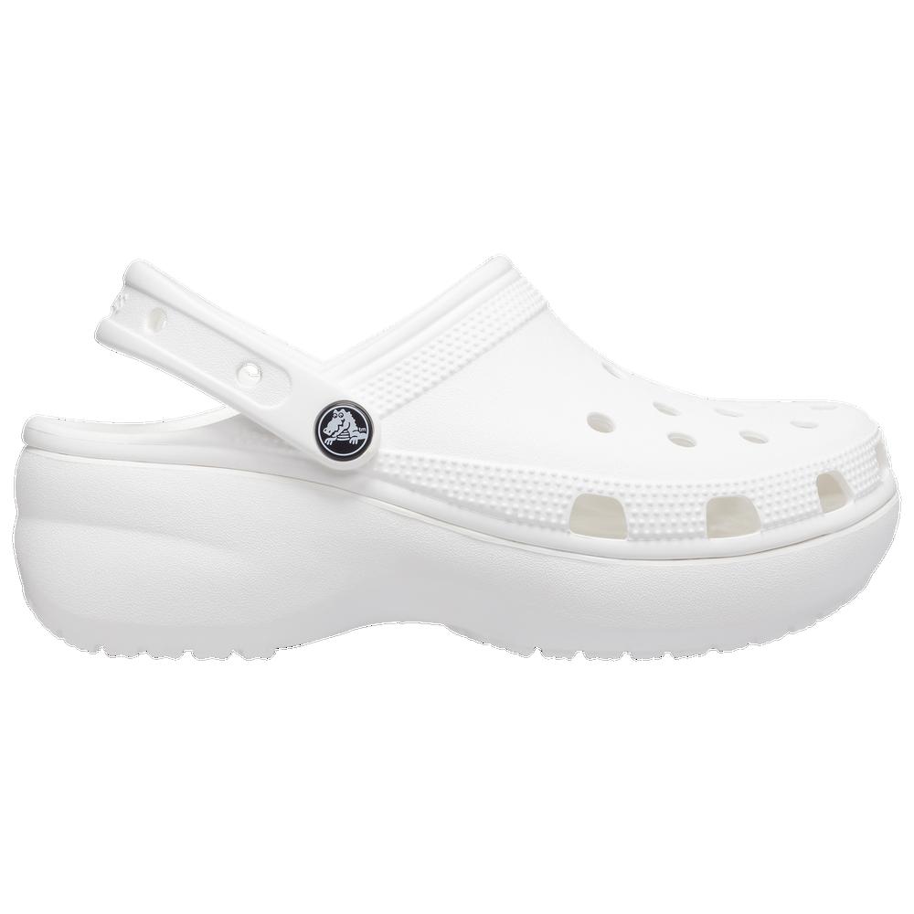 Crocs Classic Platform - Womens / White/White