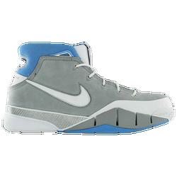 75f06db0d38 Kobe Bryant Nike Kobe 1 Protro - Mens - Wolf Grey White University Blue