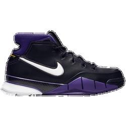 c6eb4671a085 Kobe Bryant Nike Kobe 1 Protro - Mens - Black White Varsity Purple