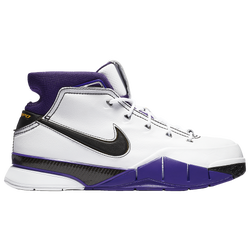 100% authentic cd7cb a37a8 Kobe Bryant Nike Kobe 1 Protro - Mens - White Black Court Purple
