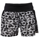 "ASICS® 3.5"" AOP Run Shorts - Women's"