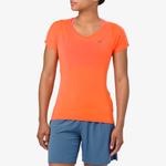 ASICS® V-Neck Short Sleeve T-Shirt - Women's
