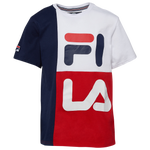 Fila Stacked Color Blocked T-Shirt - Boys' Grade School