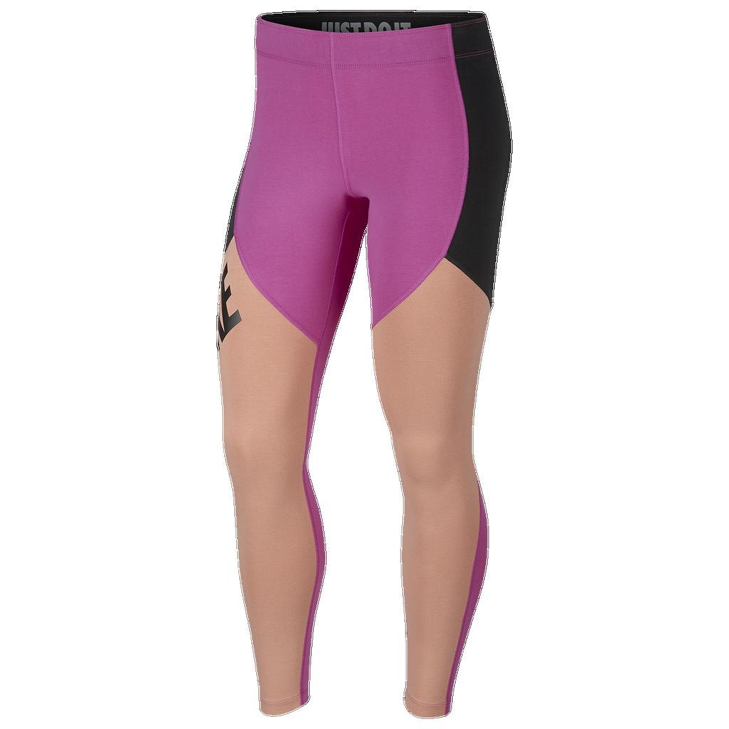 Nike Sport Distort Colorblock Leggings by Foot Locker