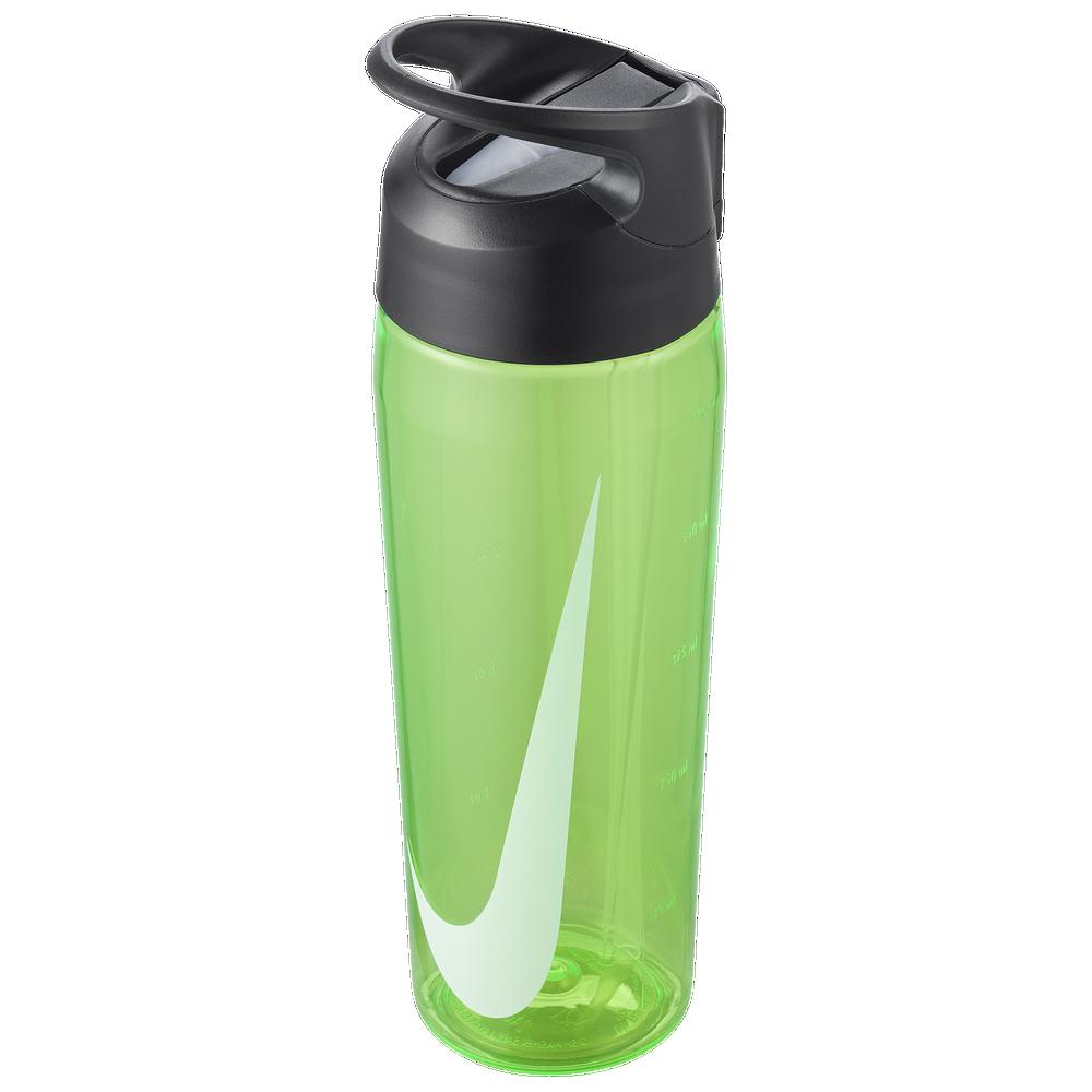 Nike TR Hypercharge Straw Bottle 24 OZ / Green Spark/Anthracite/White