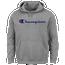 Champion Big And Tall Script Logo Hoodie - Men's