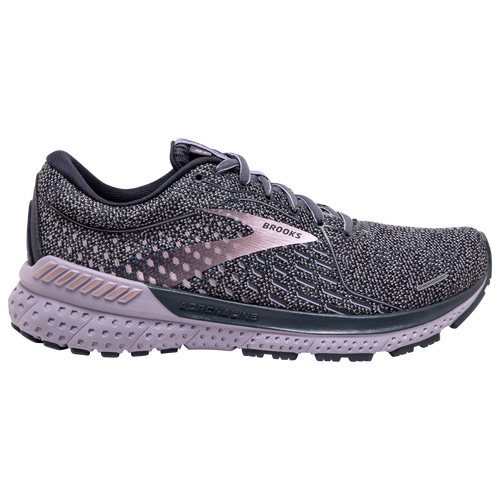 Bringing on-demand support and increased stability to your runs, the Brooks Adrenaline GTS 21 is the perfect everyday trainer. Packed with revolutionizing GuideRails technology, these street-ready kicks allow your body to follow its natural path of motion for optimal support and better running form. Topped off with a smooth heel-to-toe transition, the Adrenaline GTS 21 from Brooks ensures you hit the road with the right style and attitude! Engineered mesh upper ensures superior breathability and lightweight protection. DNA Loft cushioning system offers optimal responsiveness and energy return. Brooks Adrenaline GTS 21 - Women\\\'s Running Shoes - Ombre / Lavender / Metallic, Size 8.5.
