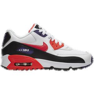 Air Max 90 Infrared Premium Mens Shoes Black Red Purple
