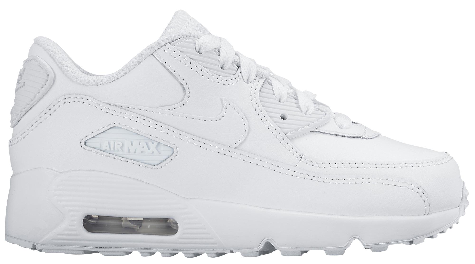 air max all white
