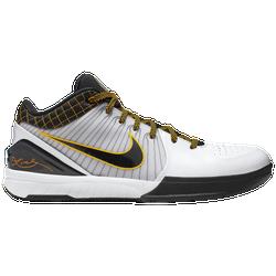 pretty nice b658e b54f7 Kobe Bryant Nike Kobe IV Protro - Mens - White Black Del Sol