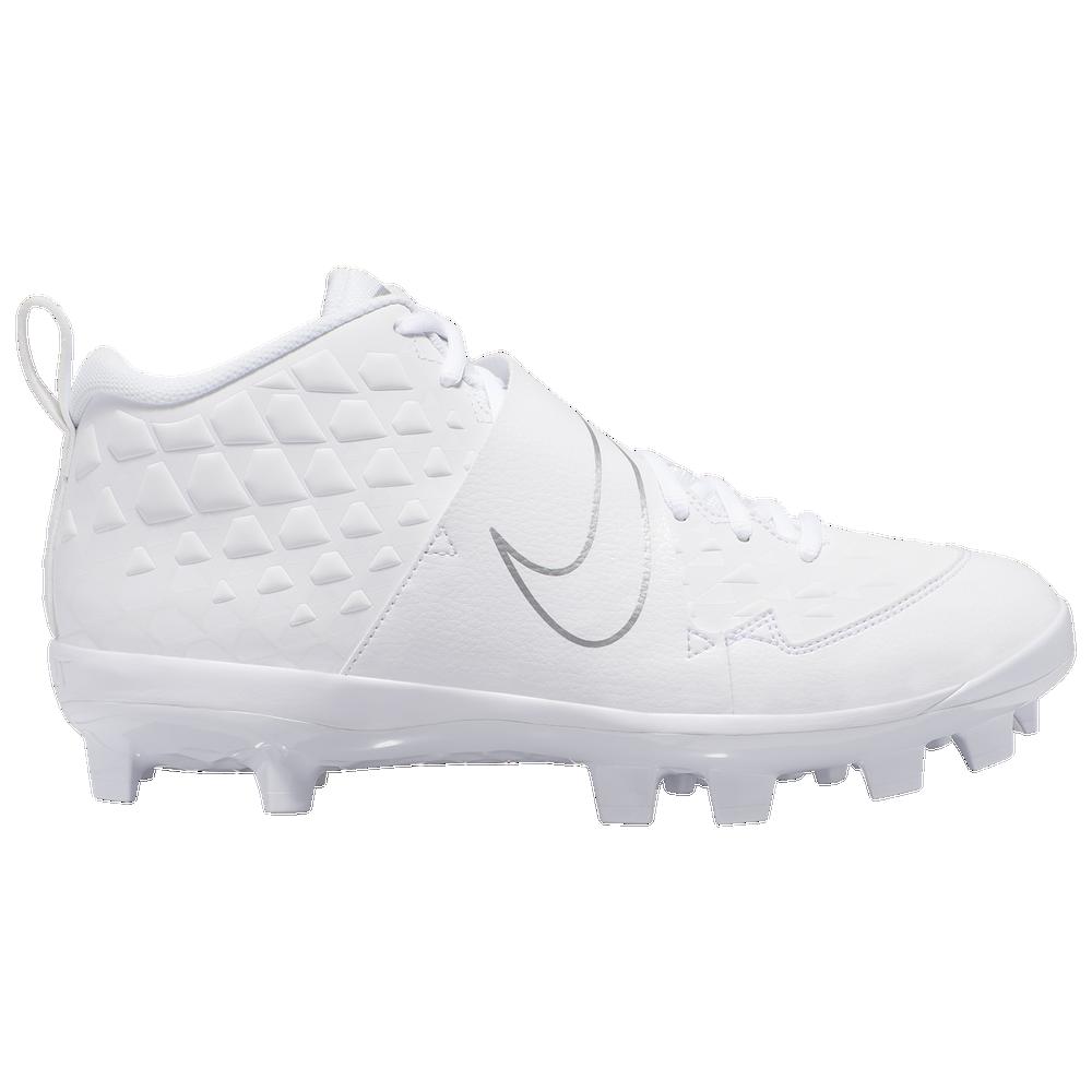 Nike Force Trout 6 Pro MCS - Mens / White/White/Pure Platinum