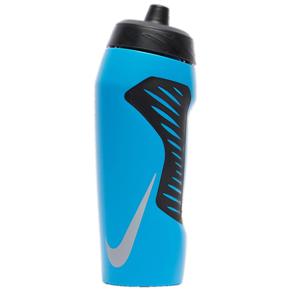 Nike Hyperfuel Water Bottle 24 Oz. / Blue Fury/Black/Iridescent