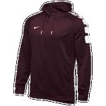 Nike Team Elite Stripe Full Zip Hoodie - Men's