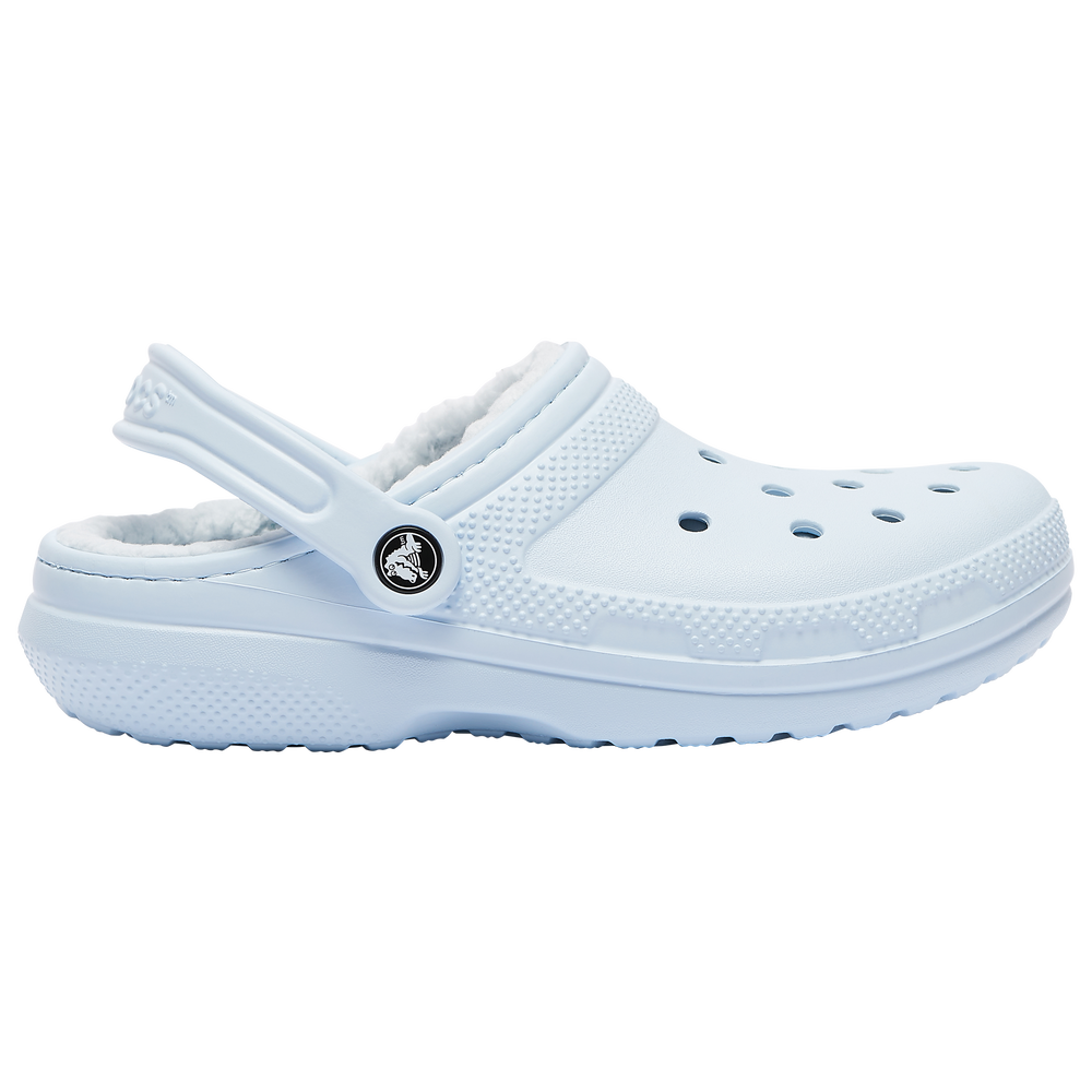 Crocs Classic Lined Clog - Womens / Mineral Blue/Mineral Blue