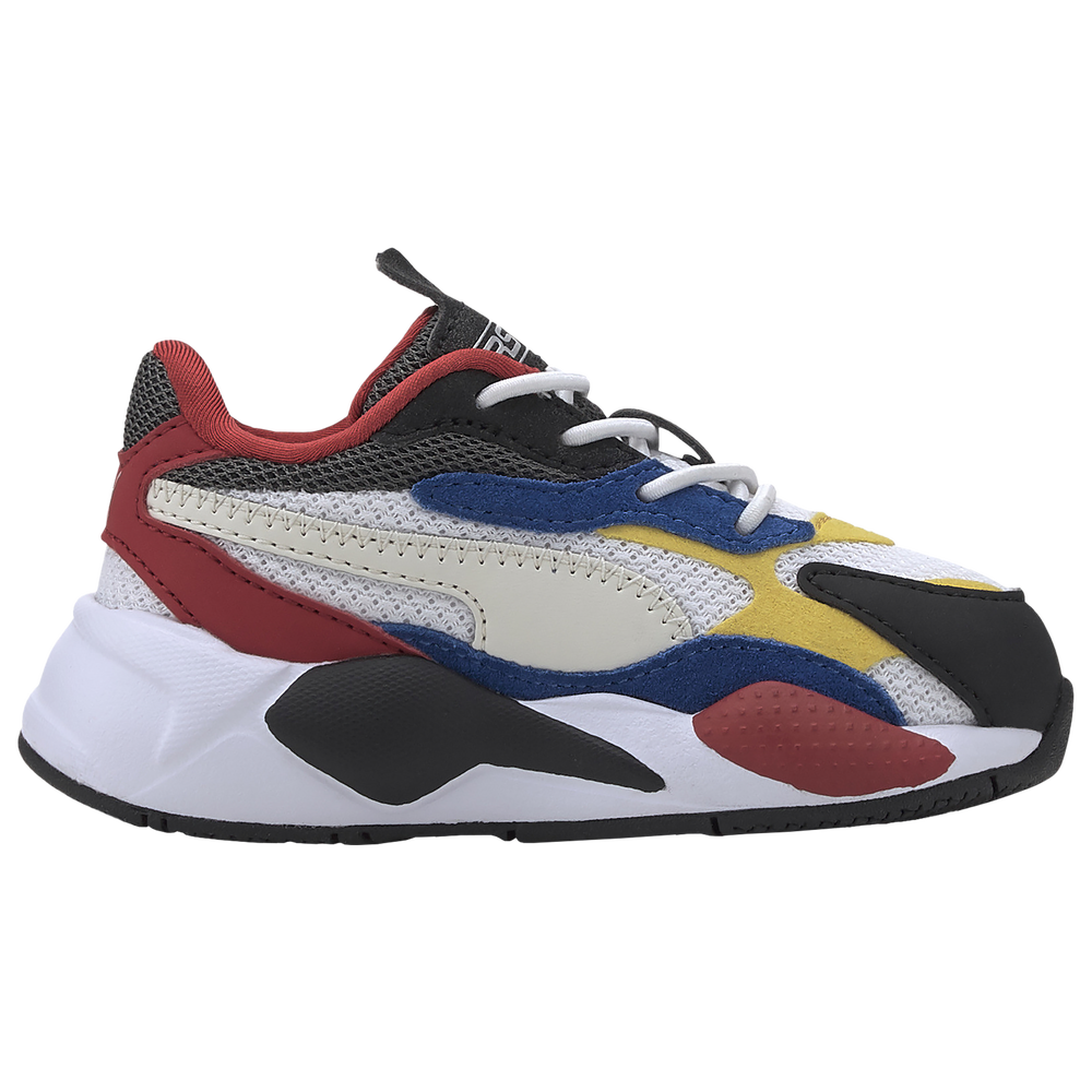PUMA RS-X3 - Boys Toddler / White/Spectra Yellow/Red