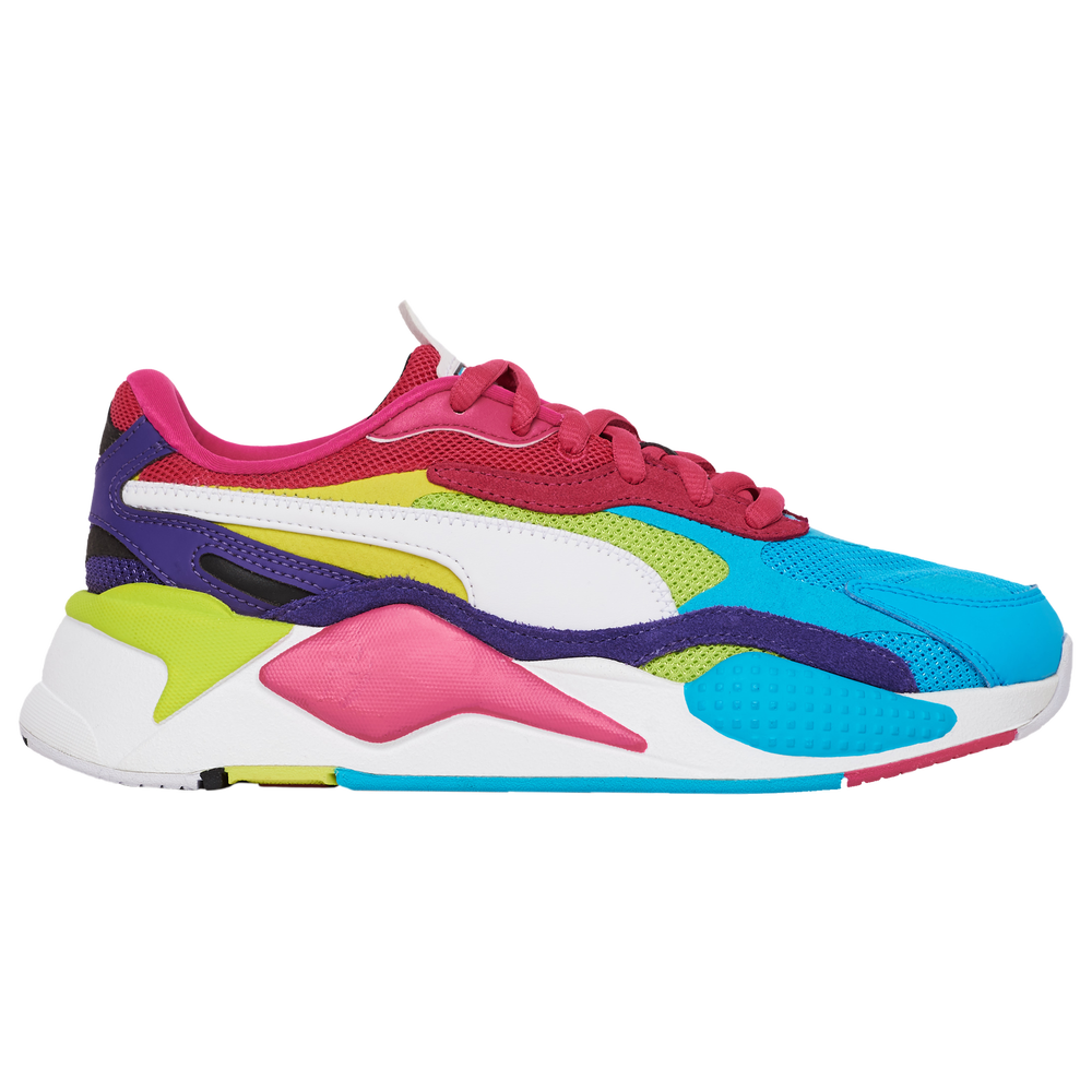 PUMA RS-X Cubed - Womens / Beetroot Purple/White/Purple | Puzzle