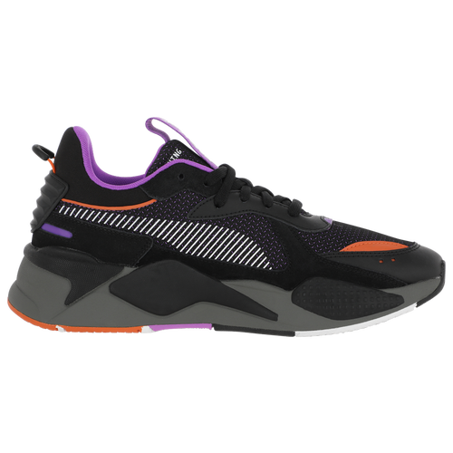 Mens Puma Rs-x In Black/purple/orange