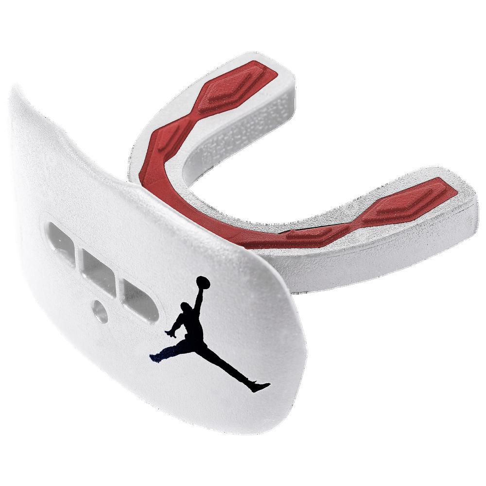 Jordan Hyperflow Flavored Lip Protector - Adult / White/Gym Red/Black   Fruit Punch Flavored