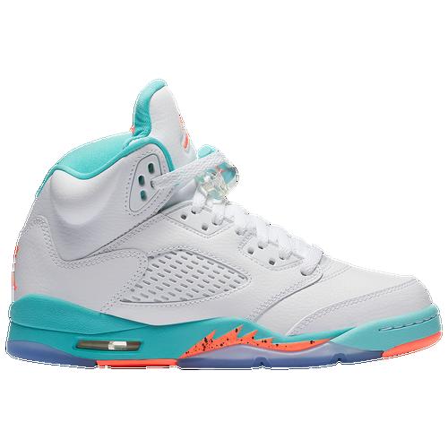 6f6c0395bed9 Jordan Retro 5 - Girls  Grade School - Shoes