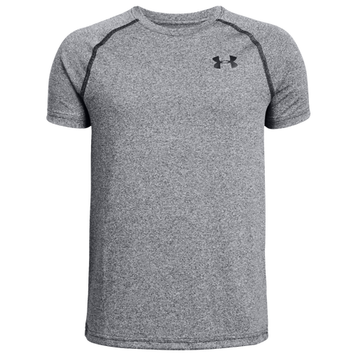 Under Armour\\\'s Tech T-Shirt features moisture-wicking, quick-drying fabric to keep you comfortable no matter what your day throws at you. Anti-odor technology fights the growth of odor-causing microbes. Raglan sleeves let you move naturally. Soft UA Tech fabric provides soft comfort. 100% polyester. Imported.