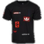 adidas Originals Multi Logo Hit T-Shirt - Boys' Grade School