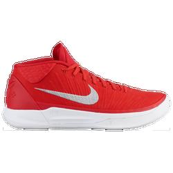 258d7dc05dd2 Kobe Bryant Nike Kobe A.D. - Mens - University Red Metallic Silver White