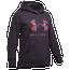 Under Armour Rival Print Fill Logo Hoodie - Girls' Grade School
