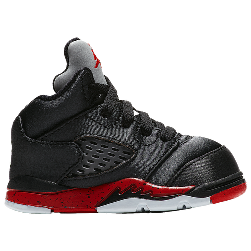 db1848c3161ec8 14. Jordan - Retro 5 - Boys Toddler - Black University Red