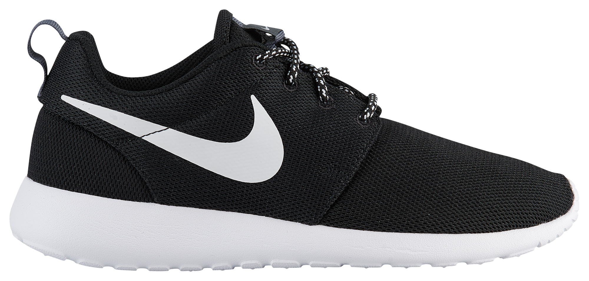 nike roshe run black and white womens shoes