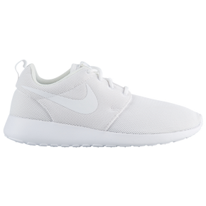 white nike roshe womens with black swoosh