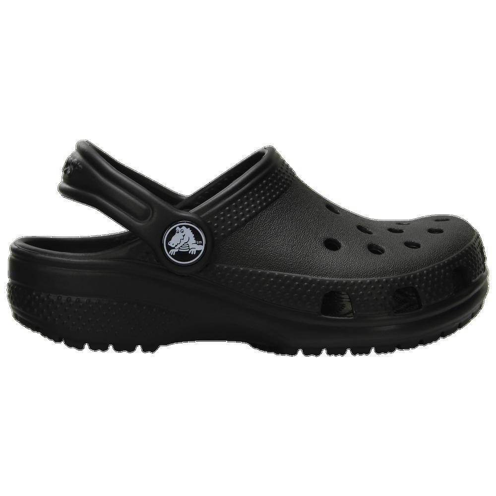 Crocs Classic Clog - Boys Preschool / Black/Black