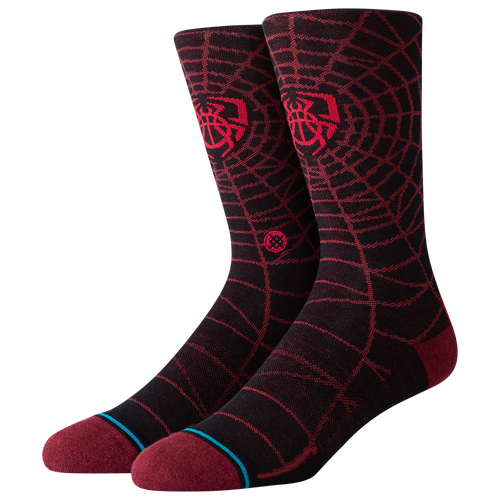 Give your favorite outfit a style boost with the Spida Crew Socks from Stance. 51% cotton/24% nylon/21% polyester/4% elastane. Imported.