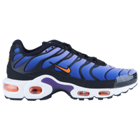 nike air max plus black/total orange/psychic purple/court purple