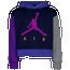 Jordan Jumpman Air Cropped Hoodie - Girls' Grade School