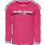 adidas Side Vent Long Sleeve T-Shirt - Girls' Preschool