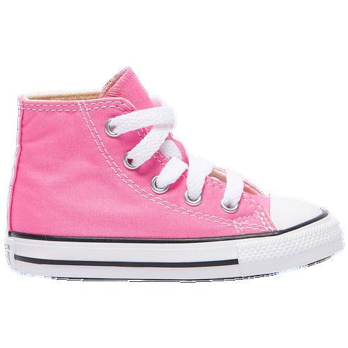 Kids Converse All Star Hi - Girls Toddler - Pink