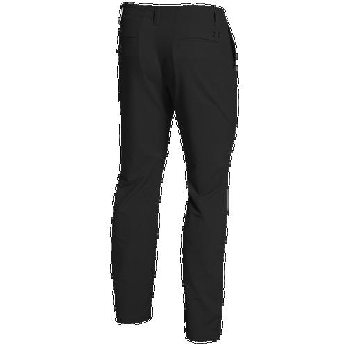 Under Armour Match Play Golf Pants - Mens - Black/True Grey Heather/Black