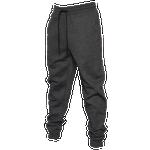 CSG Mens CSG Cuffed Fleece Pants - Mens Black Marl/Gray Size L