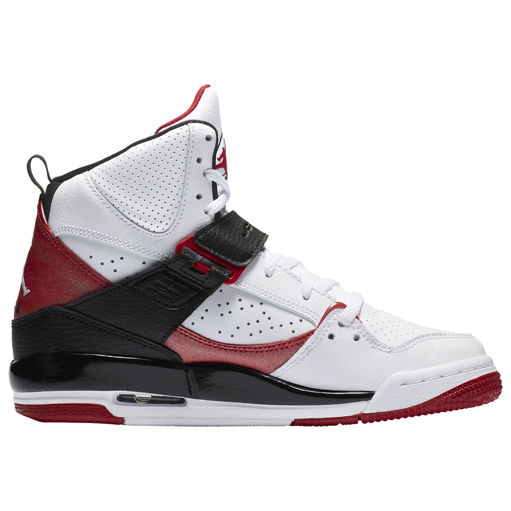 Jordan Flight 45 High - Boys Grade School / White/Gym Red/Black